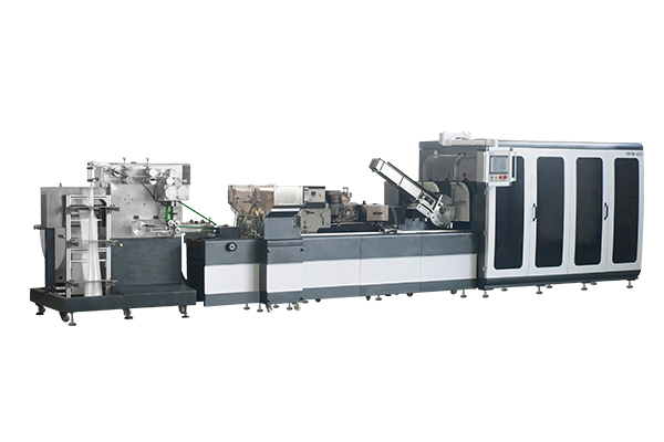 HHFSM4500 disposable tableware four-edge sealing production line